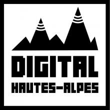 Logo Digital Hautes-Alpes